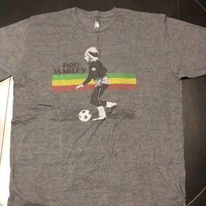 Zion Rootswear Bob Marley Soccer Shirt Sz XL